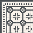 Decorative Georgian style geometric floor tiles - Battersea