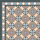 Encaustic Victorian Path Tiles