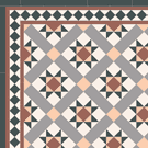 Victorian hall floor tiles - Stevenson 70