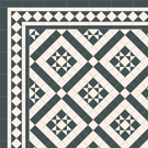 Classic Georgian ceramic path tiles - Willesden 50