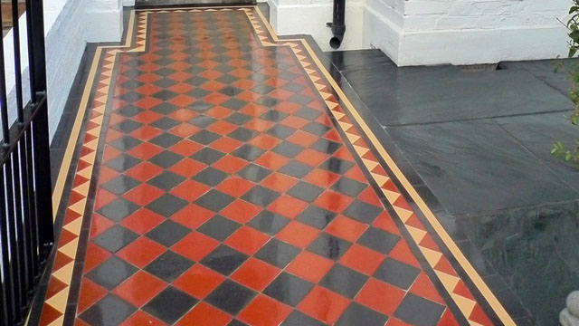Red And Black Floor Tiles - Flooring Ideas and Inspiration