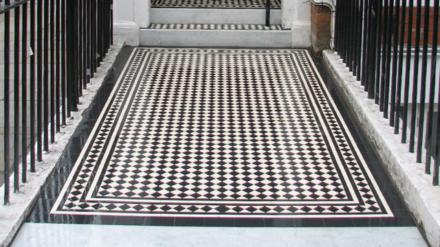 Reproduction Victorian Floor Tiles | London Mosaic