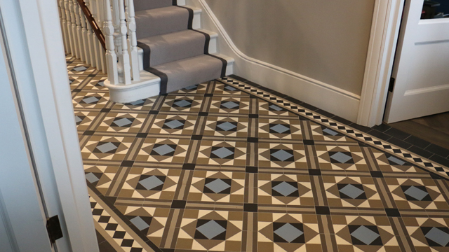 Victorian Floor Tiles Tiles On Sheets Geometric