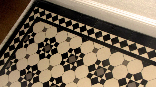 Edwardian Period Hall Tiles 2