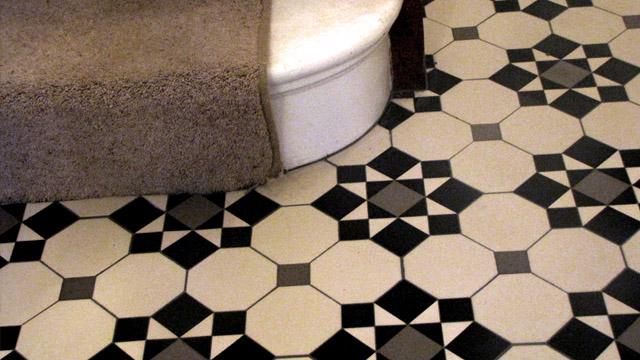 Nice Reproduction Edwardian Floor Tiles Festooning Best Home