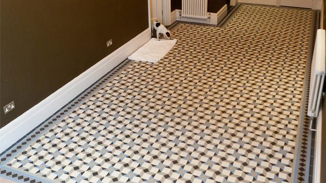 Gallery of tile installations photos of victorian floor tiles modern geometric floor tiles ppazfo