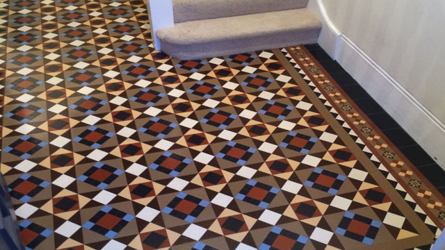 new victorian hall tile design 4  Gallery of Tile Installations Photos of  Victorian Floor Tiles. New Tile Designs