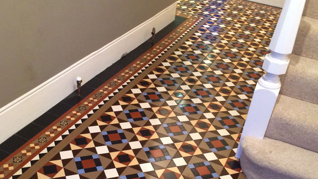 new victorian hall tile design 5  Gallery of Tile Installations Photos of  Victorian Floor Tiles. New Tile Designs