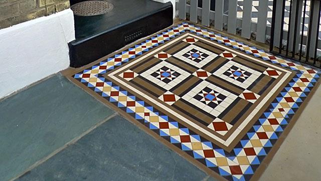Gallery Of Tile Installations Photos Of Victorian Floor