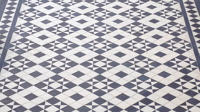 Traditional Victorian Tile Pattern 3