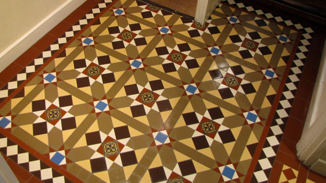 Victorian Floors | Tiles on Sheets | London Mosaic