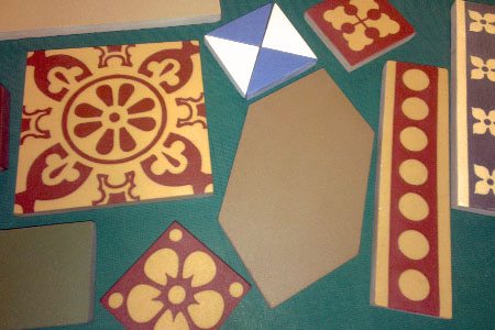 Heritage quality encaustic tiles