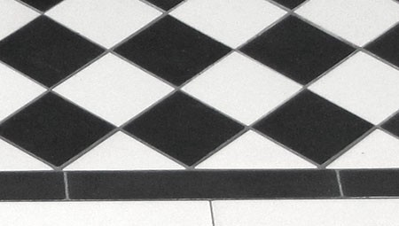 Grey Grout for Victorian Floor Tiles