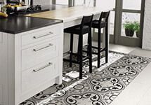 Victorian Style Decorative Printed Porcelain Tiles