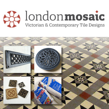 Contemporary and Victorian mosaic tile supplies
