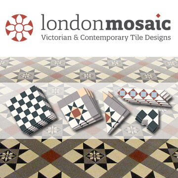 Contemporary and Victorian floor tile design and supply