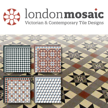 London Mosaic Tile Design Catalogue