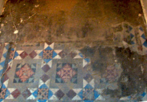 Edwardian Floor Tile Restoration Services
