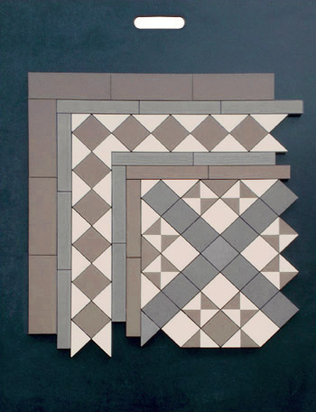 Ceramic Tile Sample Board