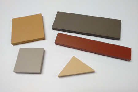 square tiles, rectangle tiles and triangle tiles