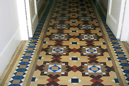 London mosaic restoration ltd london victorian mosaic for Tiles images for hall