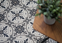 150mm encaustic tiles - Lille design