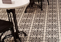 150mm encaustic tiles - Anvers design